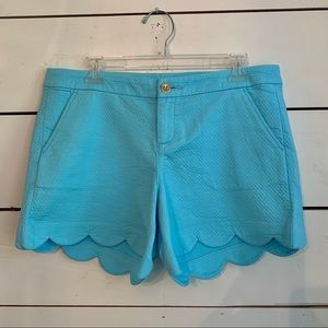 Lilly Pulitzer Buttercup Shorts -Sz: 10, Bali Blue